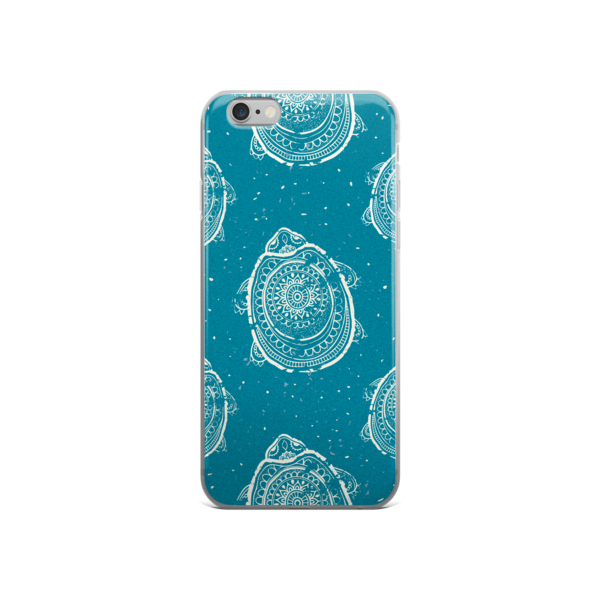 The Race to the Shore iPhone Case -Pattern Print