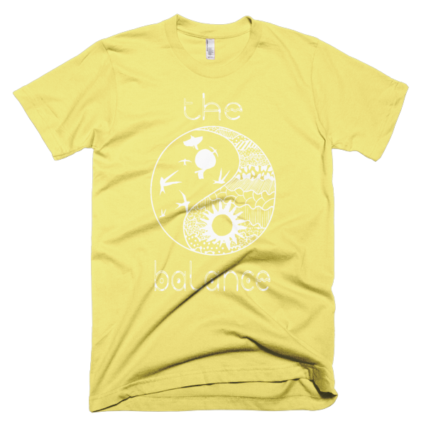 THE BALANCE Short sleeve men's t-shirt - The Gorillas Den