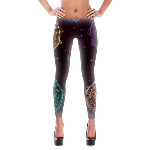 Race To The Shores Leggings - The Gorillas Den