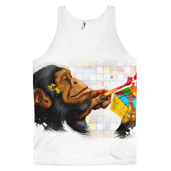 Rubik the Chimp Classic fit tank top (unisex) - The Gorillas Den