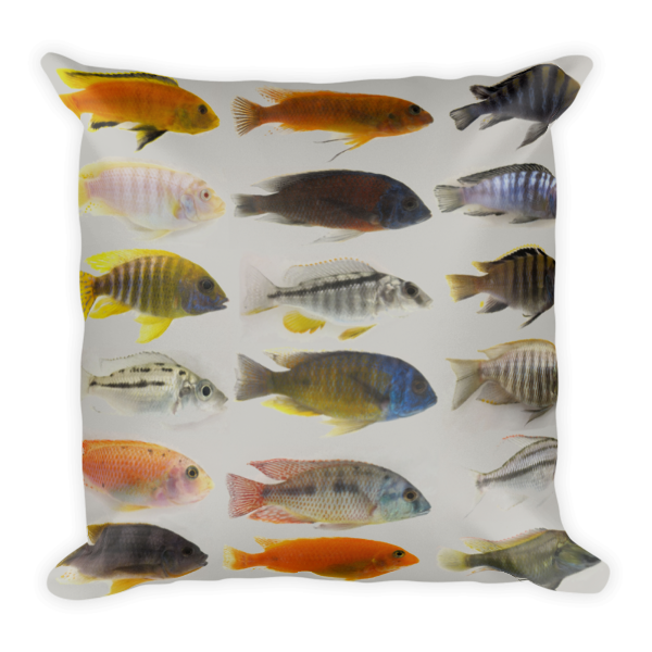 Sleeping W/ The Fishes Pillow-Pattern Print - The Gorillas Den