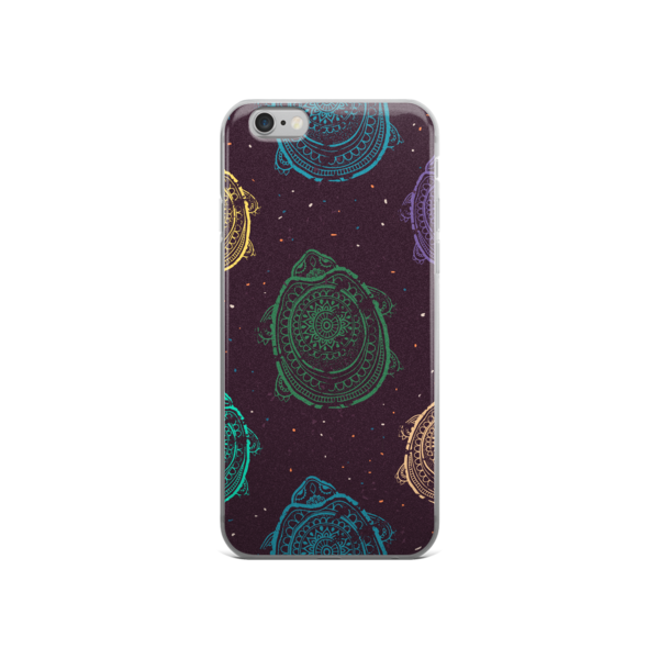 The Race To The Shore iPhone case-Black
