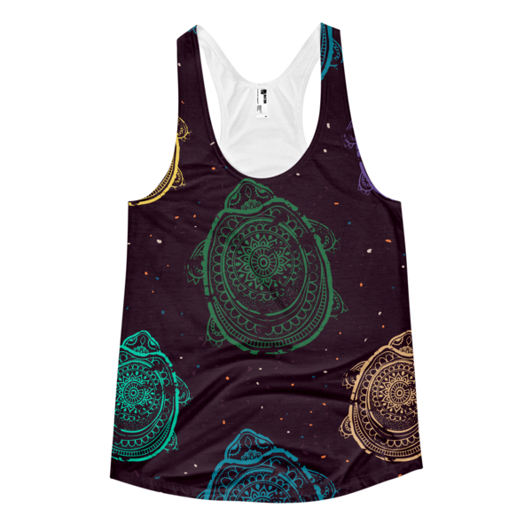 Race To The Shore Women's racerback tank - The Gorillas Den