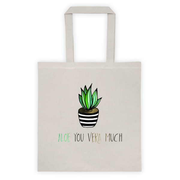 Aloe Tote bag - The Gorillas Den