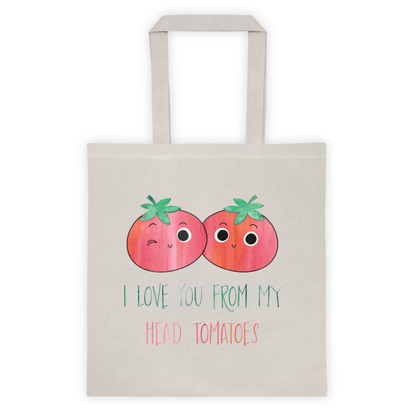 HEAD TO-MA-TOES Tote bag - The Gorillas Den