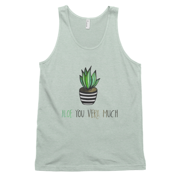 Aloe you vera much Classic tank top (unisex) - The Gorillas Den