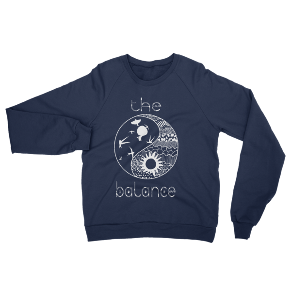 The Balance Raglan sweater - The Gorillas Den
