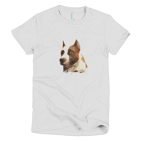 Staffy Short sleeve women's t-shirt - The Gorillas Den