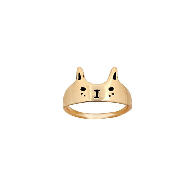 Cat Face Ring - The Gorillas Den