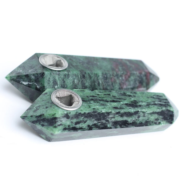 THE SPIRITUAL HIGHLIFE - ORGANIC EPIDOTE CRYSTAL (HIS & HERS 2 Pack)