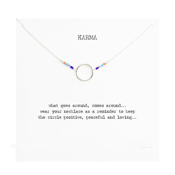 FREE! 7 Chakra of KARMA Pendant W/Card - The Gorillas Den