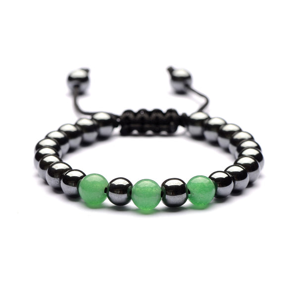 (FREE!) Hand Made With Real Stone - 7 Chakra Hematite Bracelet (MULTIPLE STYLES) - The Gorillas Den