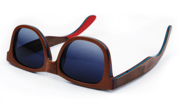 Wooden Sunglasses // Blender