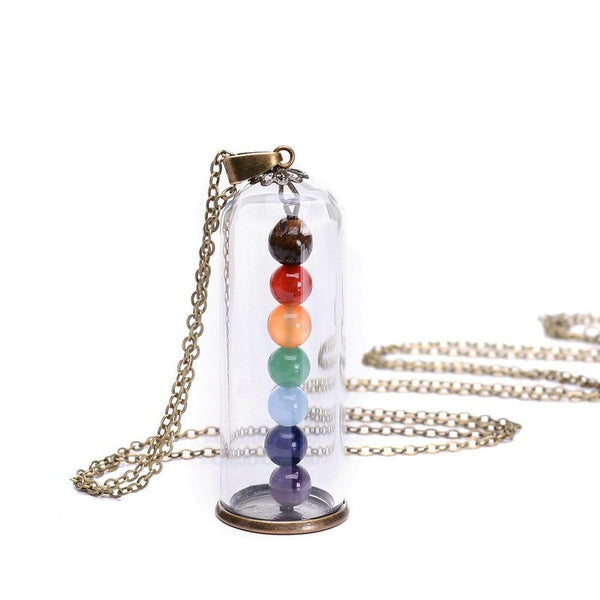 The Enchanted 7 Chakra Necklace - The Gorillas Den
