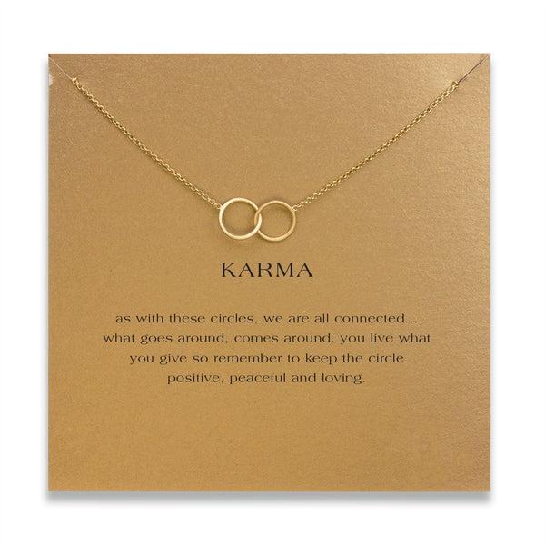 FREE! TWIN KARMA Pendant W/Card - The Gorillas Den