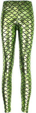 Mermaid Skin Leggings - 12 Colors - The Gorillas Den