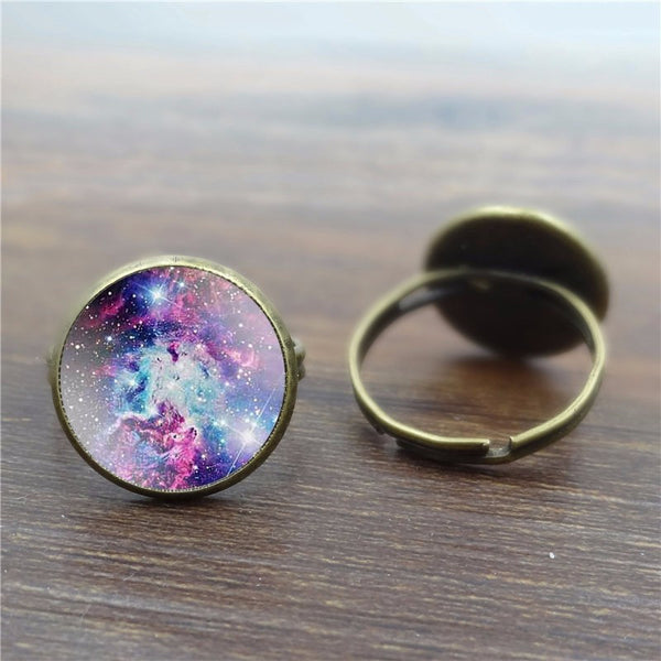 Infinity Ring - The Universe At Your Fingertips (Adjustable) - The Gorillas Den