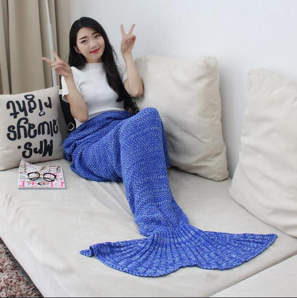 Hand Made Luxurious Mermaid Sack - Organic Bamboo Fiber (7 Different COLORS) - The Gorillas Den