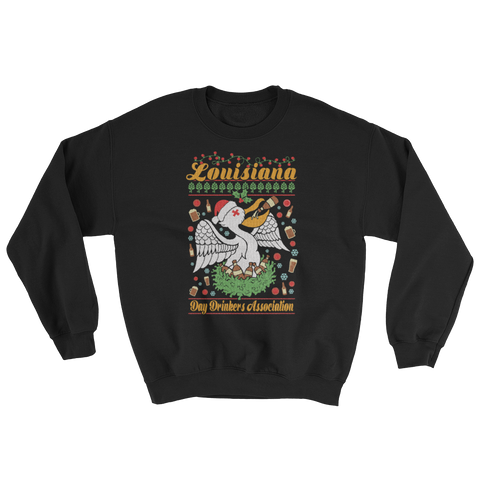 Sweatshirt - Ugly Christmas Sweater, Full Color Print