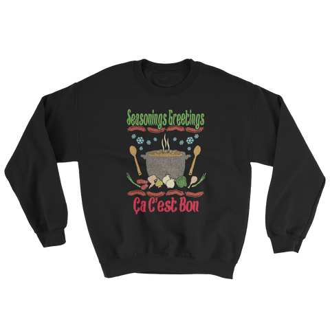 Sweatshirt - Seasonings Greetings, Full Color Print
