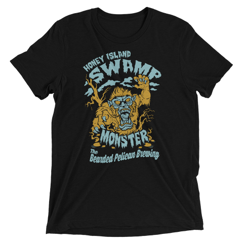 Tee Shirt- Honey Island Swamp Monster, 2 color print