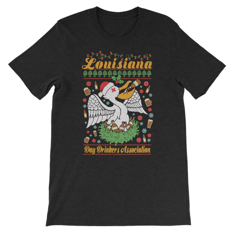 Tee Shirt - Ugly Christmas Sweater, Full Color Print