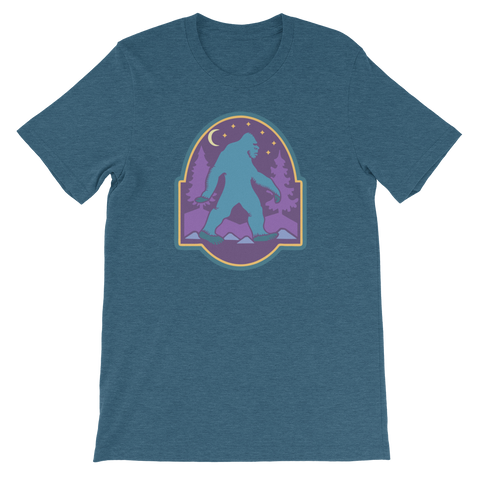Tee Shirt - Bigfoot, Color Print