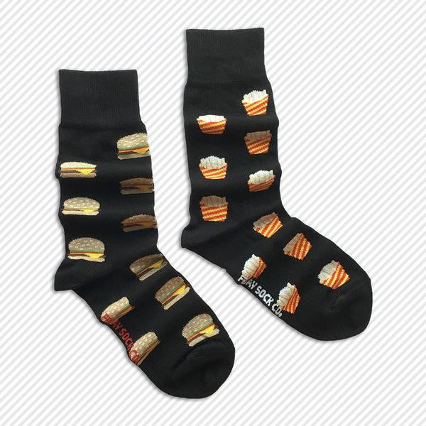 Friday Sock Co. - Burgers and Fries