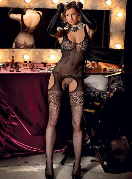 Trasparenze Edwige Fishnet Body Stocking
