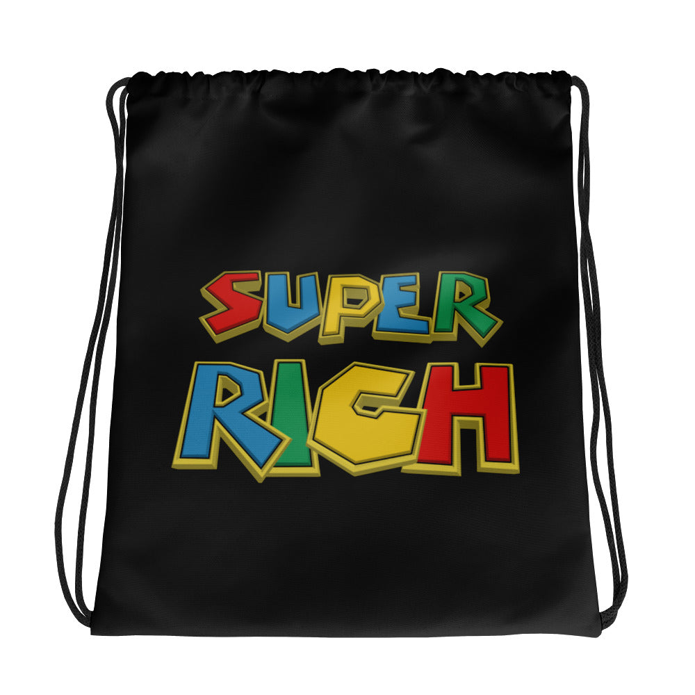 Super Rich Bros. - Drawstring bag