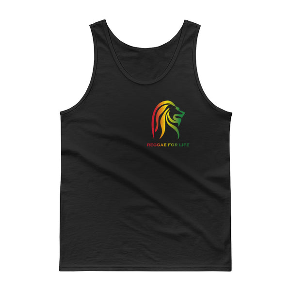 REGGAE FOR LIFE - Tank top - Small Logo