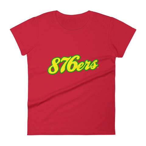 876ers 2 - Women's T-shirt - REGGAE FOR LIFE