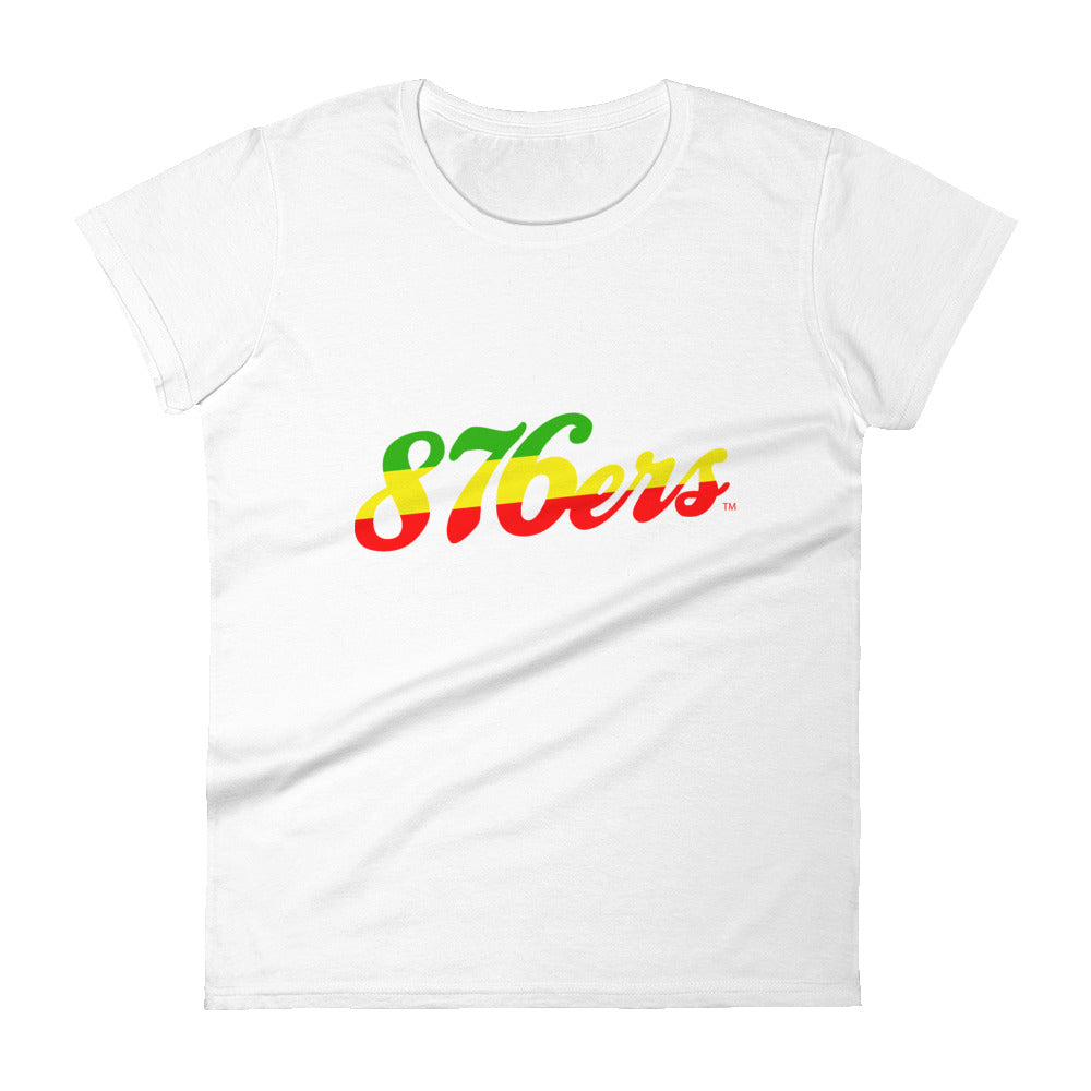 876ers 3 - Women's T-shirt - REGGAE FOR LIFE