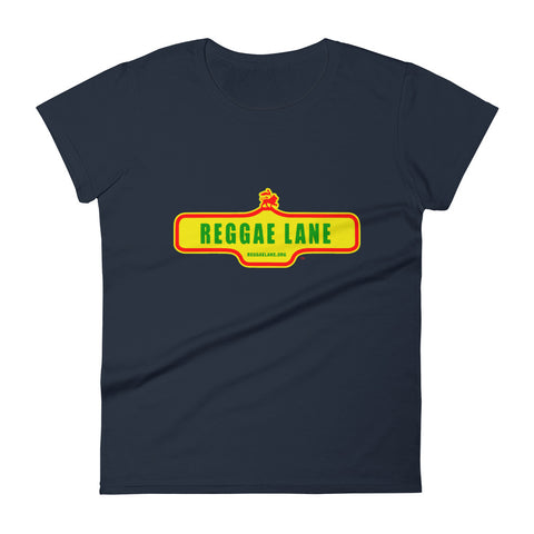 Reggae Lane - Women's T-shirt - REGGAE FOR LIFE