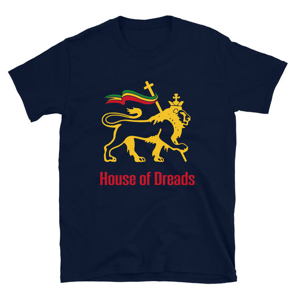 Customizable House of Dreads - Reggae for Life - Unisex T-Shirt