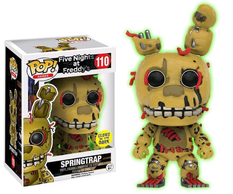 Five Nights at Freddy's - Springtrap Glow US Exclusive Pop! Vinyl Figure