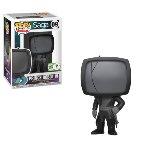 ECCC 2018 Exclusive - Saga: Mourning Prince Robot IV Pop! Vinyl Figure - Pre-Order