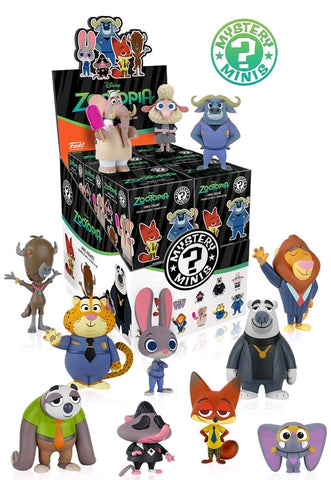 Zootopia - Mystery Mini Blind Box Case of 12 Figures