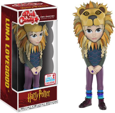 Harry Potter - Luna Lovegood with Lion Head Rock Candy Vinyl Figure - NYCC 2017 Exclusive