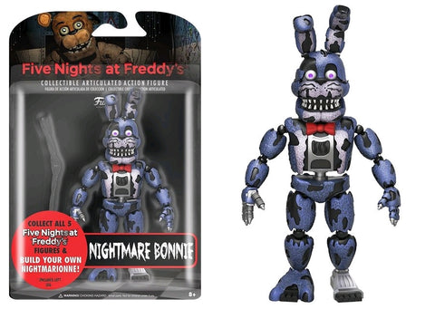 "Five Nights at Freddy's - Nightmare Bonnie 5"" Action Figure"
