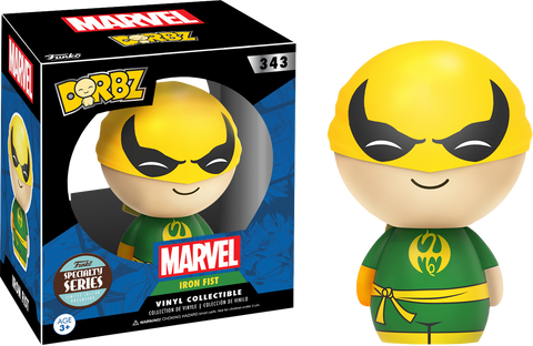 Iron Fist - Specialty Store Exclusive Dorbz Vinyl Figure - Pre-Order