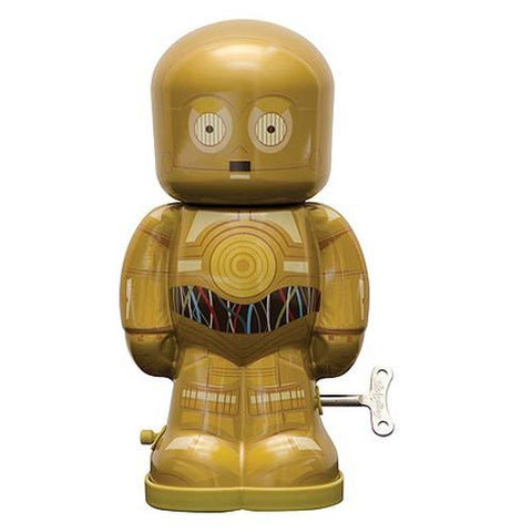 Star Wars - C-3PO 7 1/2-Inch Windup Tin Toy