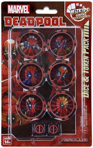 Heroclix - Deadpool & X-Force Dice & Token Pack