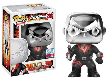 G.I. Joe - Destro Pop! Vinyl Figure - NYCC 2017 Exclusive
