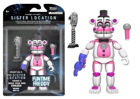"Five Nights at Freddy's: Sister Location - Funtime Freddy 5"" Action Figure - Pre-Order"