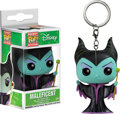 Sleeping Beauty - Maleficent Pocket Pop! Keychain