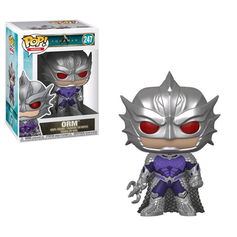 Aquaman Movie - Orm Pop! Vinyl Figure - Pre-Order