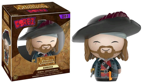 Pirates of the Caribbean - Captain Barbossa Dorbz - Pre-Order