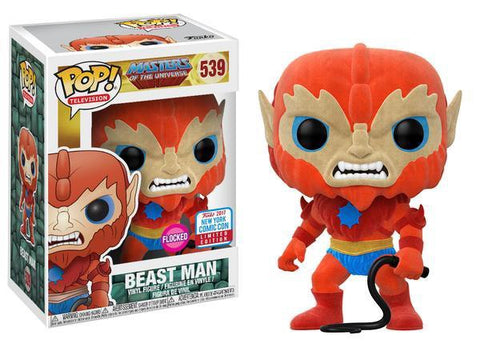 NYCC 2017 Exclusive - Masters of the Universe: Flocked Beast Man Pop! Vinyl Figure