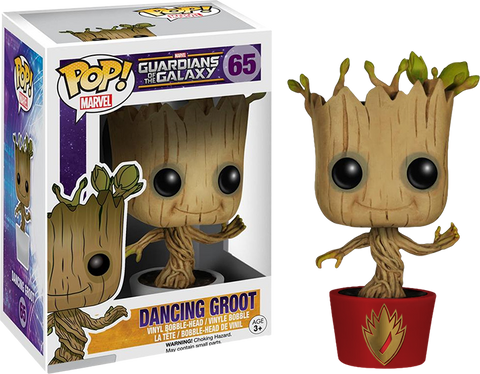 Guardians of the Galaxy - Dancing Groot Pop! Vinyl Figure (Ravagers Edition)